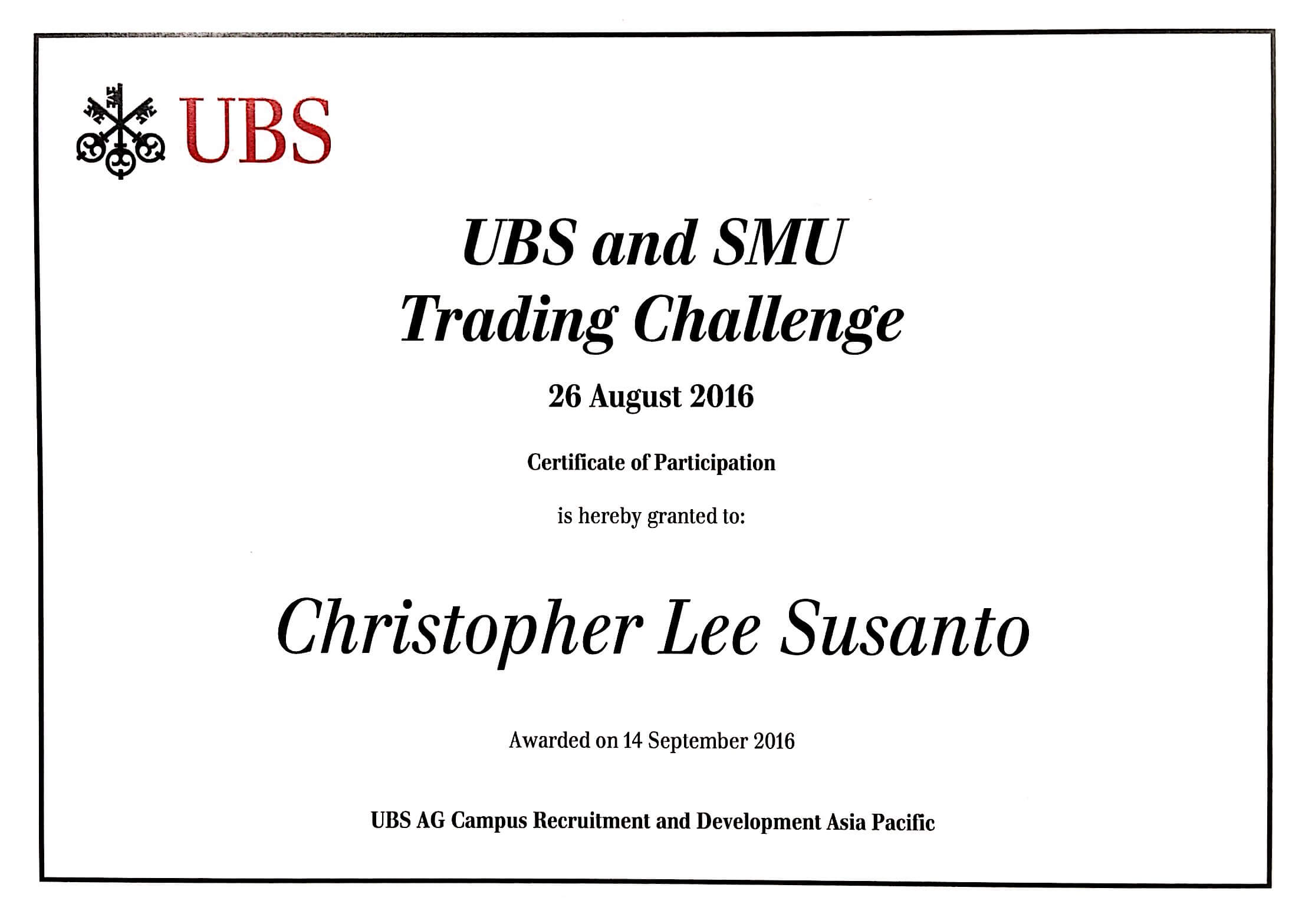 Ubs stock options account