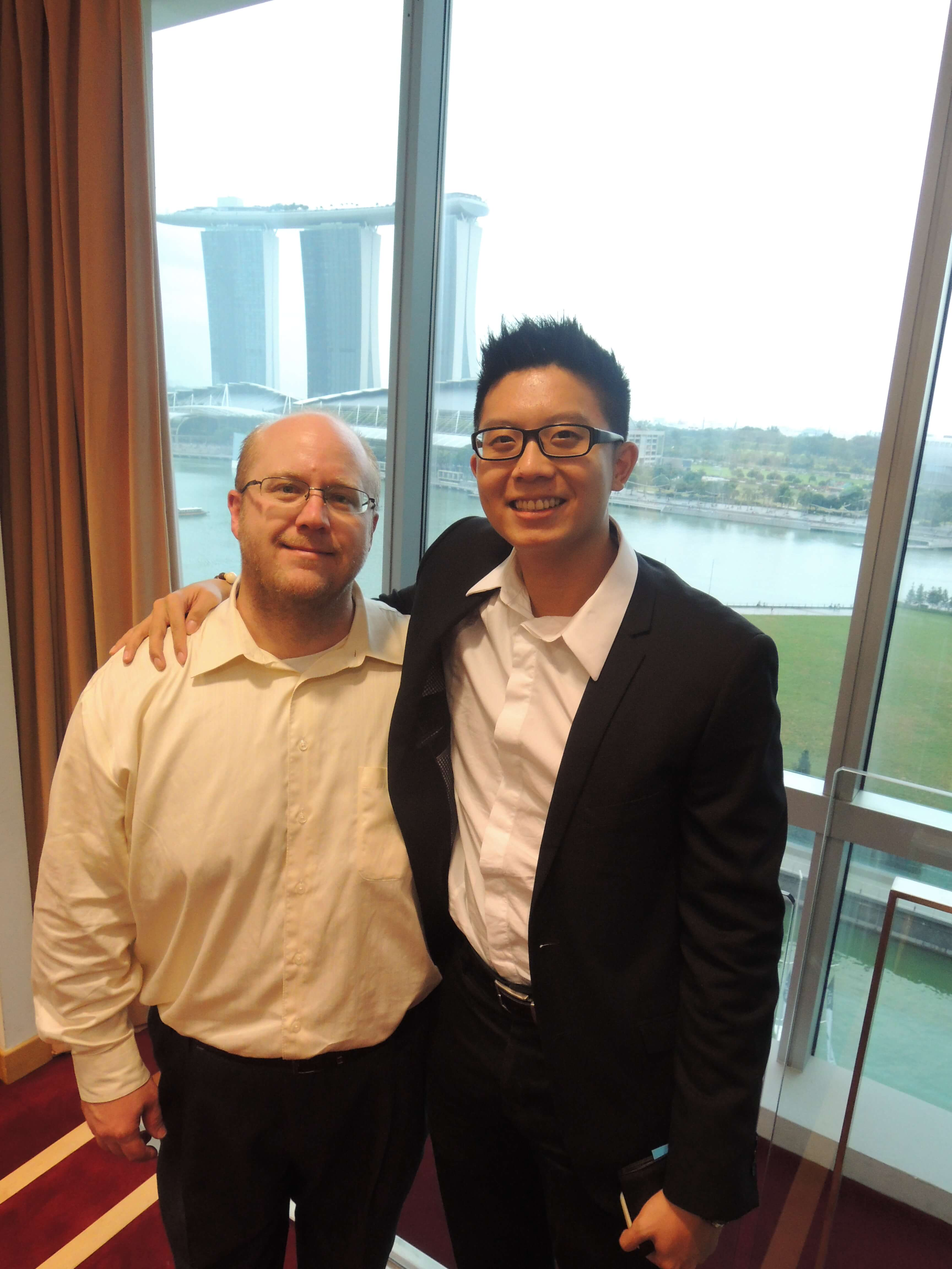 www.re-thinkwealth,sg, www.re-thinkwealth.com, www.christopherleesusanto.com With Brian Schkeryantz, Gryphone Growth Group Managing Director