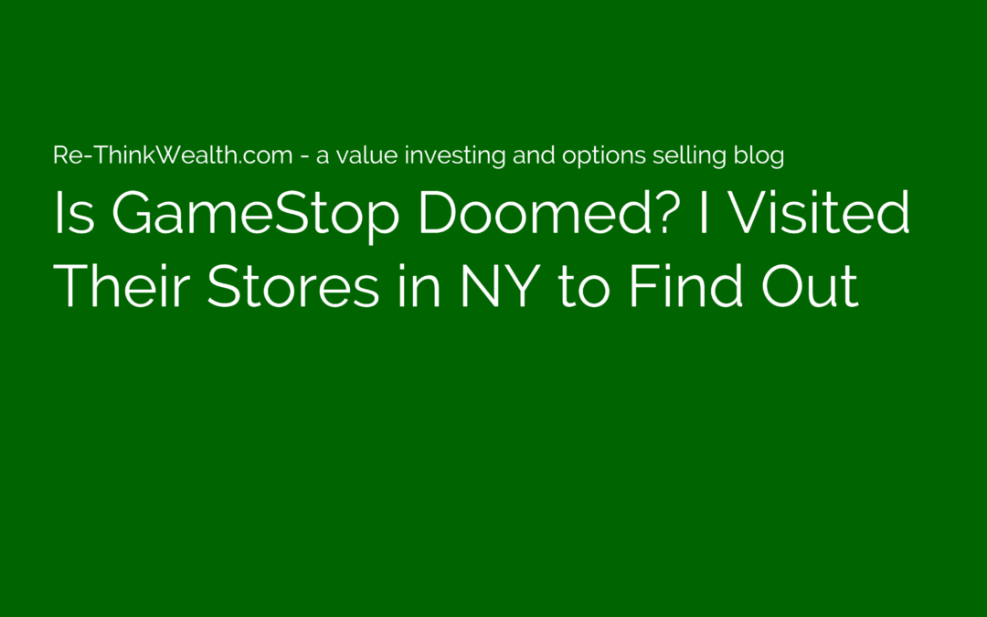 Is GameStop Doomed? I Visited Their Stores in NY to Find Out
