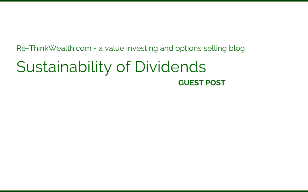 Sustainability of Dividends