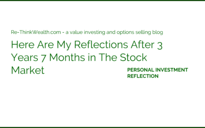 Here Are My Reflections After 3 Years 7 Months in The Stock Market