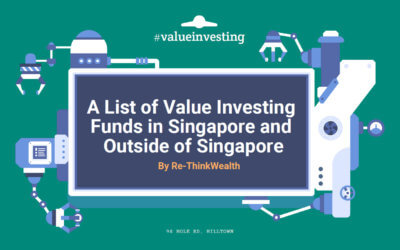 A List of Value Investing Funds in Singapore and Outside of Singapore