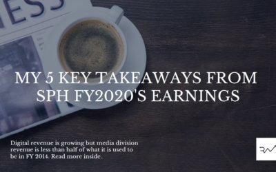 My 5 Key Takeaways From SPH FY2020's Earnings